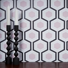 Chasing Paper - Hexagon Removable Wallpaper