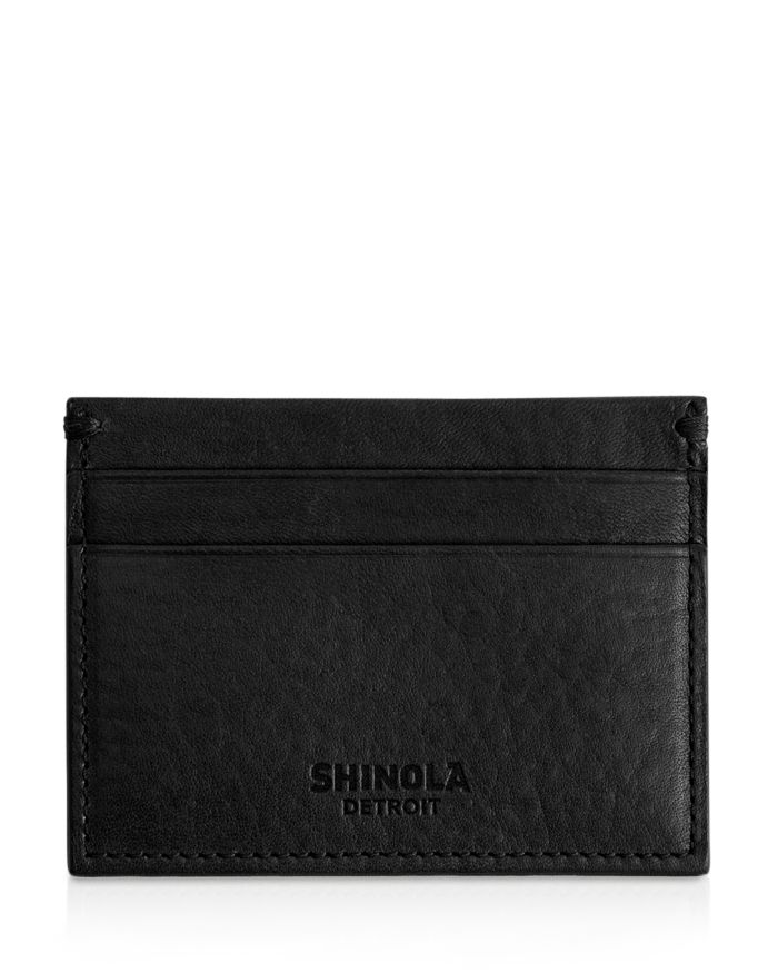 Shinola Leather Card Case   | Bloomingdale's