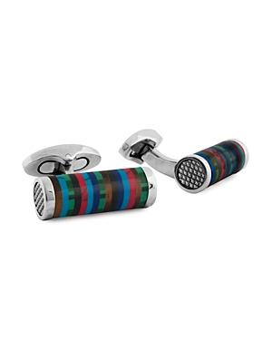 Tateossian Multi Color Cylinder Cufflinks
