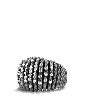 David Yurman - Tempo Ring with Diamonds