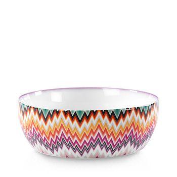Missoni - Zigzag Salad Bowl