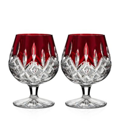 $Waterford Lismore Red Brandy Glass, Set of 2 - Bloomingdale's