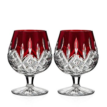 Waterford - Lismore Red Glassware, Set of 2