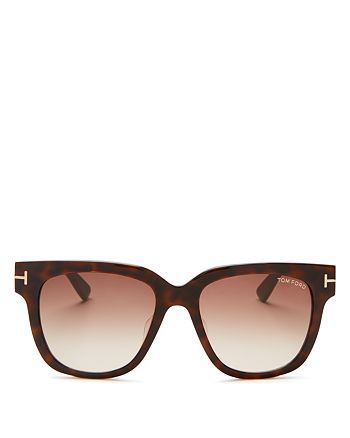 Tom Ford - Women's Tracy Square Polarized Sunglasses, 54mm