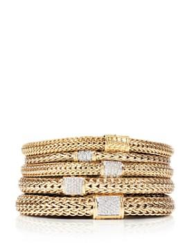 John Hardy Clic Chain 18k Gold Bracelet