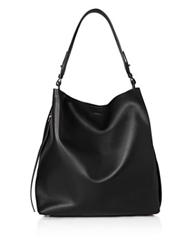 7b2b336f6f02 ALLSAINTS Captain Mixed Media Shoulder Bag. $298.00. ALLSAINTS - Kepi  North/South Leather Hobo ...
