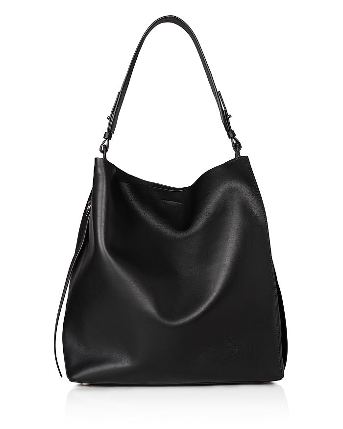 ALLSAINTS - Kepi North/South Leather Hobo