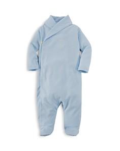 Ralph Lauren Boys' Shawl Collar Footie - Baby - Bloomingdale's_0