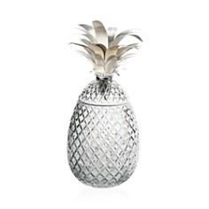 "William Yeoward Crystal ""Isadora Silver"" Pineapple Centerpiece - Bloomingdale's Registry_0"