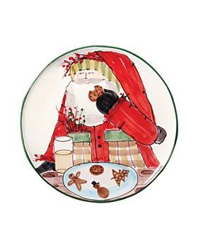VIETRI - Old St. Nick Cookie Platter