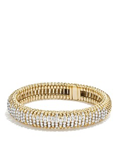 David Yurman Tempo Bracelet with Diamonds in 18K Gold - Bloomingdale's_0