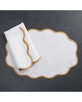 Matouk - Scalloped Table Linens