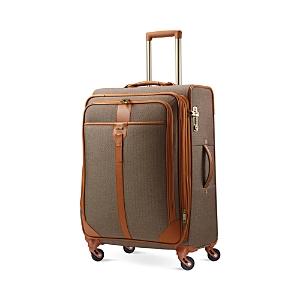 Hartmann Herringbone Luxe Medium Journey Expandable Spinner