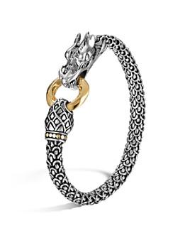 JOHN HARDY - Sterling Silver & 18K Gold Naga Dragon Bracelet