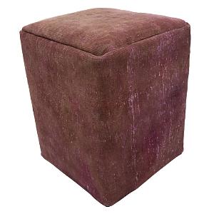 Bloomingdale's Vintage Carpet Ottoman, Pink