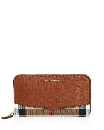 Burberry - House Check Derby Elmore Wallet