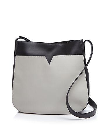 Vince - Signature Color Block Messenger Shoulder Bag