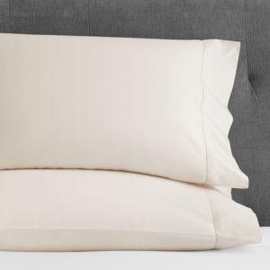 Hudson Park 600TC Sateen Solid King Pillowcase, Pair - 100% Exclusive