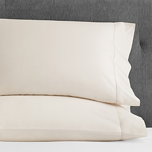 Hudson Park 600TC Sateen Solid King Pillowcase, Pair - 100% Exclusive