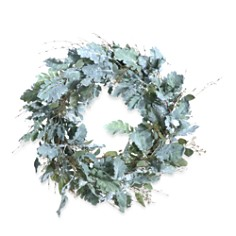 "Gold Eagle Dusty Miller Wreath, 27"" - Bloomingdale's_0"