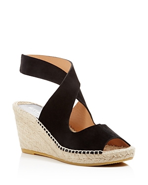 Bettye Muller Mobile Crisscross Espadrille Wedge Sandals