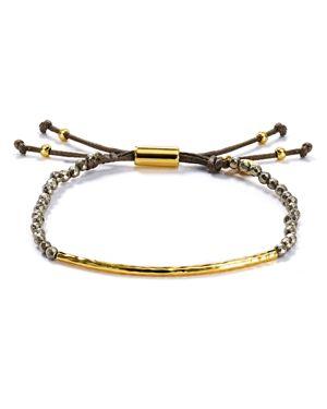Gorjana Pyrite Strength Bracelet