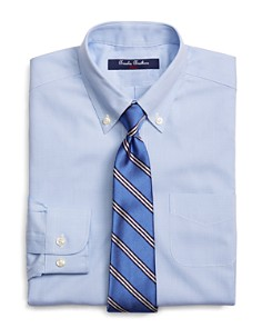 Brooks Brothers Boys' Mini Houndstooth Dress Shirt - Little Kid, Big Kid - Bloomingdale's_0