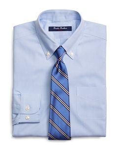 Brooks Brothers Boys French Cuff Dress Shirt Little Kid