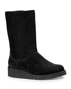 UGG® - Women's Amie Slim Short Wedge Boots ...