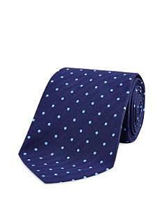 Turnbull & Asser Dot Wide Tie - Bloomingdale's_0