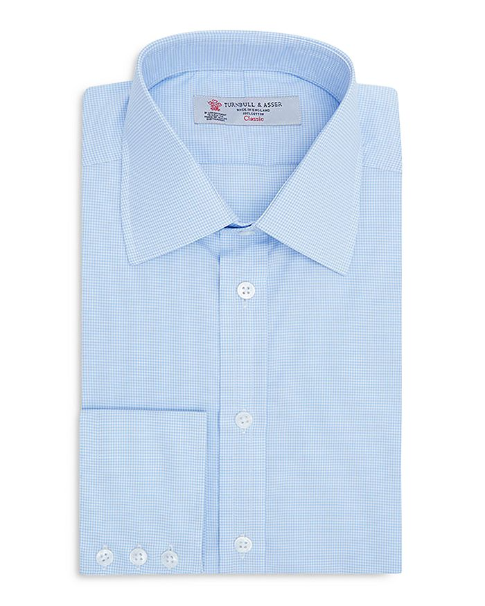 Turnbull & Asser - Micro Check Classic Fit Dress Shirt