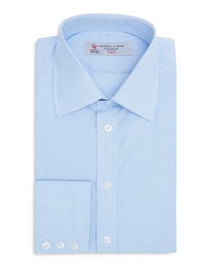 Turnbull & Asser Micro Check Classic Fit Dress Shirt