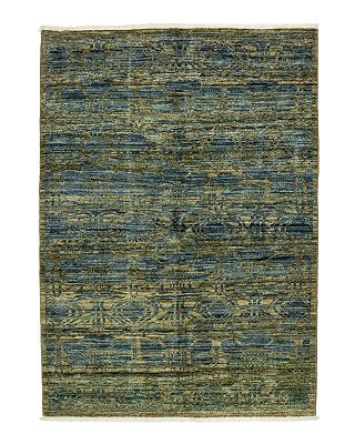 Solo Rugs Eclectic Collection Oriental Area Rug 4 4 X 5 10