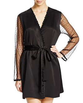 Flora Nikrooz - Showstopper Charmeuse Cover-Up Robe