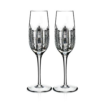 Waterford - Essentially Dungarvan Champagne Flutes, Set of 2