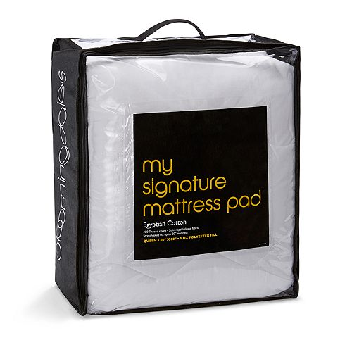 Bloomingdale's - My Signature Mattress Pad, Queen - 100% Exclusive