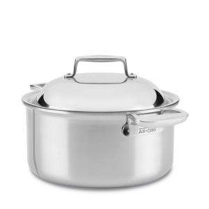 All Clad d7 Stainless 8 Quart Round Oven with Lid 1603341