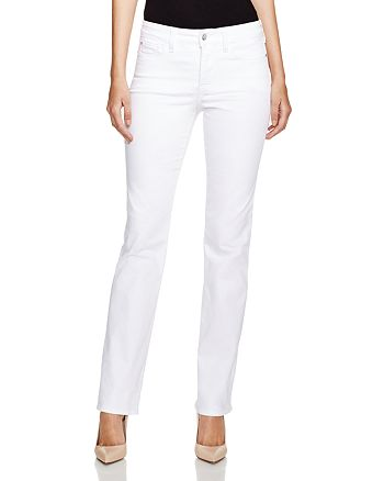 NYDJ - Marilyn Straight Leg Jeans in Optic White