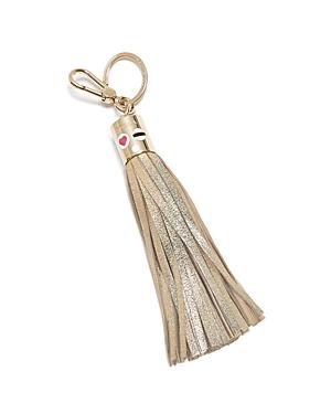 Furla Metallic Lady Fringe Bag Charm