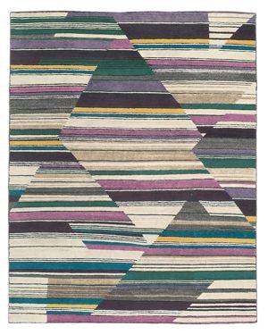 Tufenkian Artisan Carpets Abstract Fall Area Rug, 10' x 14'