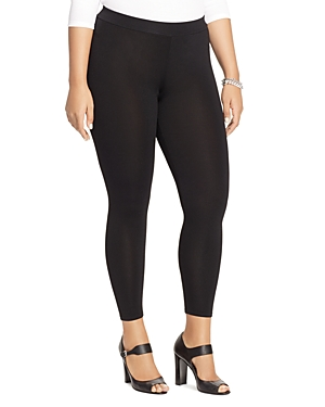 Lauren Ralph Lauren Plus Ribbed Knit Leggings