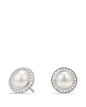 Click here for David Yurman Albion Pearl Earring with Diamonds prices