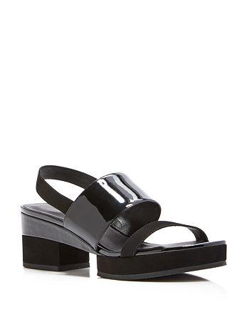 Delman - Malia Platform Slingback Sandals