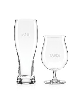 kate spade new york - Darling Point Mr. & Mrs. Beer Set