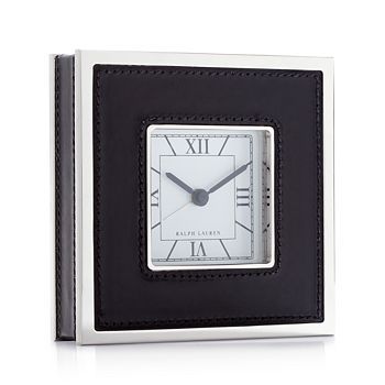 Ralph Lauren - Fulton Clock, Black