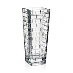 Rogaska - Quoin 12.5'' Square Vase