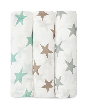 Aden + Anais Infant Unisex Star Print Silky Soft Swaddles