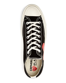 Comme Des Garcons PLAY - Men's Chuck Taylor Lace Up Sneakers