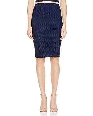 Aqua Chevron Knit Pencil Skirt - 100% Exclusive