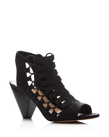 c71d718fac60 VINCE CAMUTO - Women s Eliaz Caged Peep Toe Sandals
